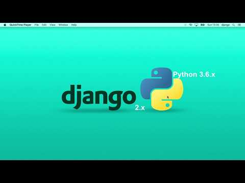 Full CRUD with Django 2.0 in 30 minutes ( 2018 )