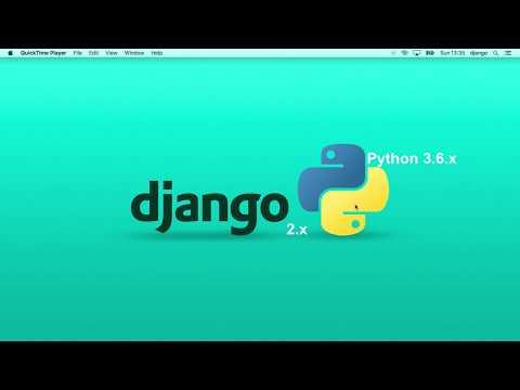 Full CRUD with Django 2 0 in 30 minutes ( 2018 ) - YouTube