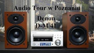 Denon D-M 41 czyli mikro zestaw stereo do każdego pomieszczenia.