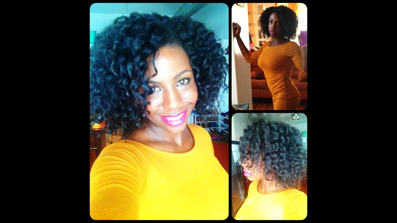 Flat Twist Out Tutorial on 4a 4b 4c Natural