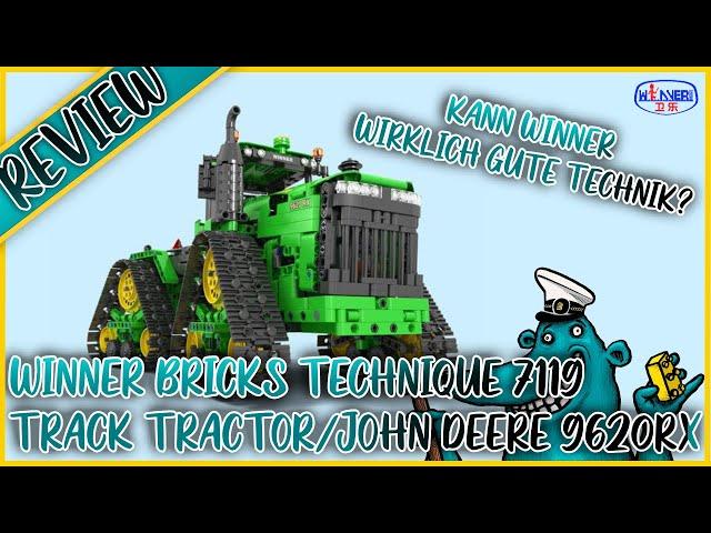 Winner 7119 Tractor/ John Deere 9620RX = ein Technik-Wunderwerk aus Bauspaß, Funktion und Qualität?