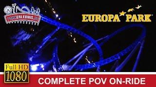 Blue Fire (Nacht/Night) OnRide @ Europa Park [FULL HD POV]