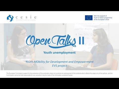 Open Talks 2 - Youth unemployment