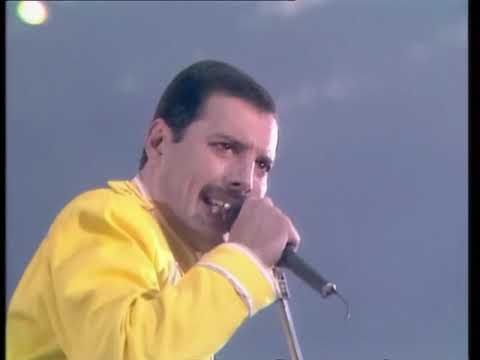Queen - One Vision & Tie Your Mother Down - Live at Wembley 1986/07/12 [50fps]