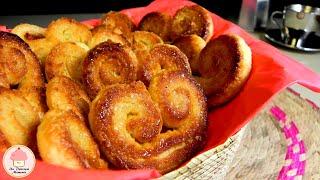 Palmeritas U Orejas De Pasta Hojaldre / Puff Pastry Palms