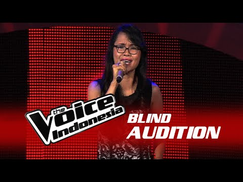 Monita Tirtasari Not Ready To Make Nice  The Blind Audition  The Voice Indonesia 2016