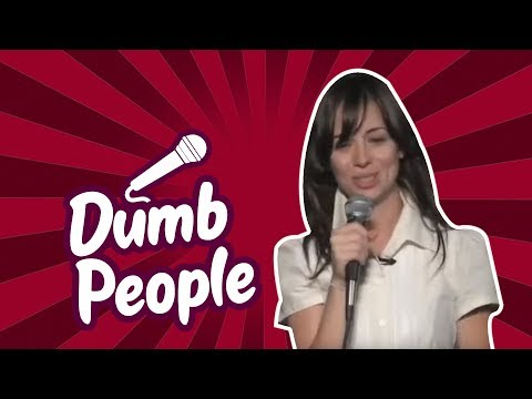 Natasha Leggero – Dumb People (Stand Up Comedy)