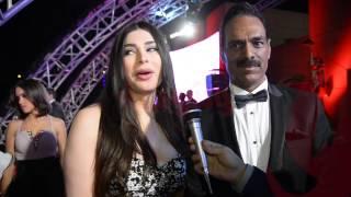 بالفيديو.. رغد سلامة بصحبة مصمم أزياء يتحدثون عن 'موضه' القاهرة السينمائي