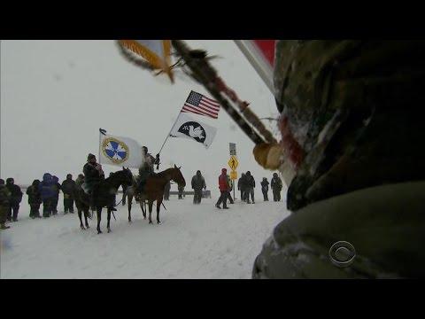 Standing Rock protesters celebrate halt to Dakota Access Pipeline