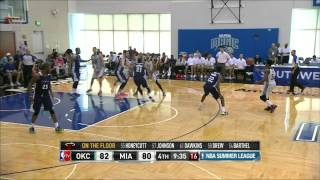NBA Summer League: Oklahoma City Thunder vs Miami Heat