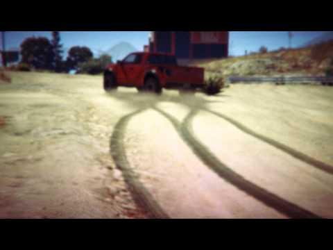Ford Raptor vs Parachutist (Halo Jumper) GTA V Edition - Rockstar Editor