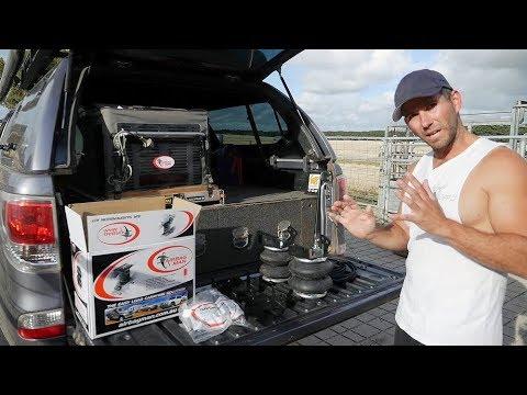Trip In A Van's Mazda BT50 DIY Airbag Suspension Install