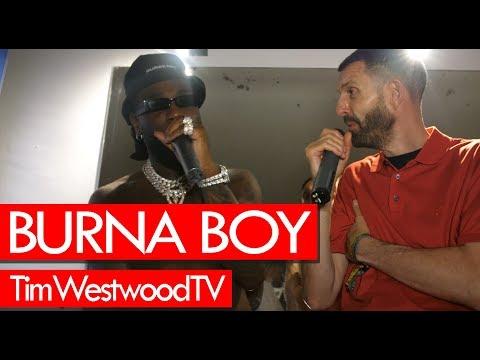 Burna Boy's New Album 'African Giant': Tracklist, Release Date
