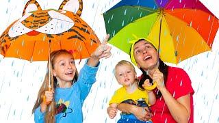 Rain Rain Go Away Song | Children Songs by Sunny Kids Songs