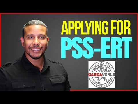 How To Apply For An Overseas Contract (PSS- ERT)-  GardaWorld Federal Services