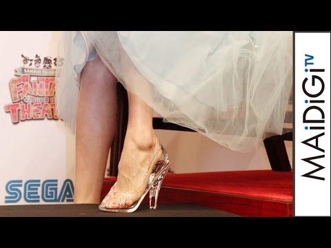 松井愛莉ガラスの靴のプレゼントにシンデレラになった気分 サンリオキャラクターズ ファンタジーシアター発表会3