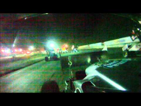 Dan Douville In Car SCoNE Heat + Feature at Bear Ridge Speedway 8-18-2012