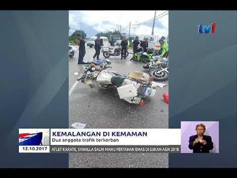 KEMALANGAN : 2 POLIS TRAFIK MAUT KETIKA LATIHAN DI KEMAMAN 12 OKT 2017]