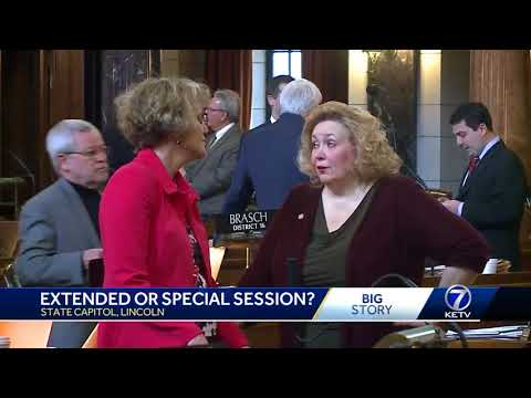 Nebraska lawmakers weigh whether to extend current session or call special session