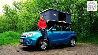 Dachzeltnomadin Rebecca lebt fulltime im Auto