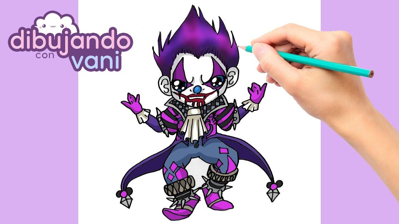 Como Dibujar Free Fire Como Dibujar Joker Free Fire Paso A Paso