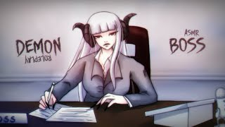 Your Demon Boss Needs To See You In Her Office ASMR Roleplay (NO DEATH)