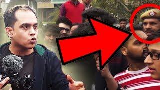 POLICE ASKED US TO LEAVE - DELHI MEET UP VLOG