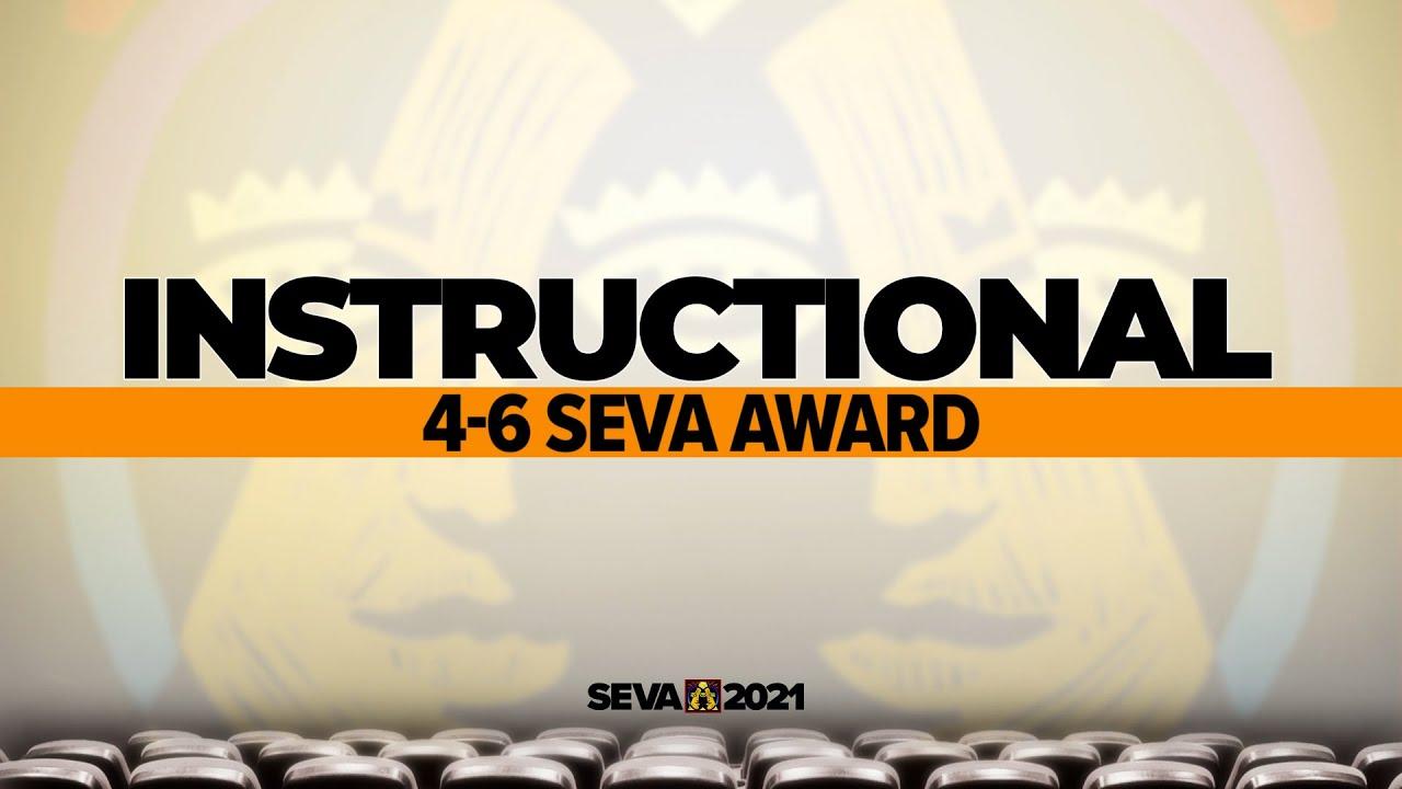SEVA 2021: Instructional 4-6 SEVA Award – How to Design a Logo by Hand