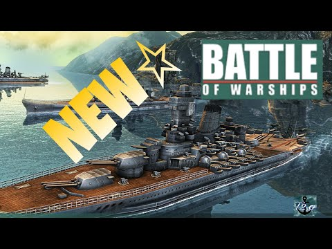 Battle of Warships New Update! More Ammunition Types, Ports, Camo, And More!!!