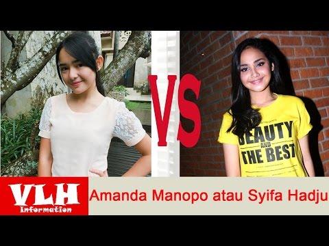 Cantikan Mana Amanda Manopo atau Syifa Hadju pemain Film Mermaid In Love di SCTV