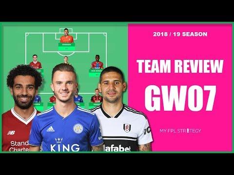 TEAM REVIEW – GAMEWEEK 7 TRANSFER PREVIEW   Fantasy Premier League 2018/19