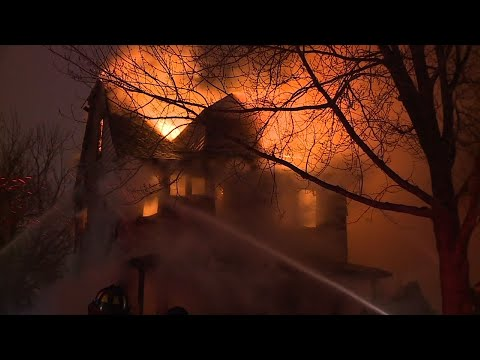 4 Missing After Fire Guts Cleveland Home