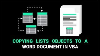 Baixar How To Copy A Single Excel Table To Word Using VBA