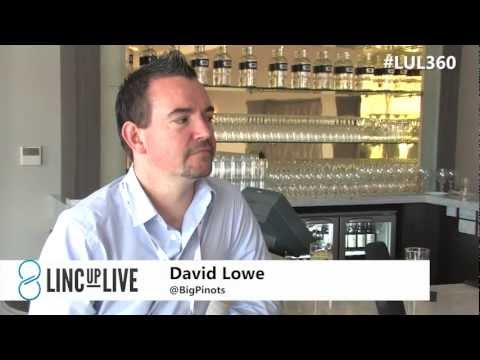 Interview with David Lowe, Wine Blogger - LincUpLive #LUL360