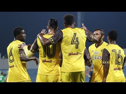 ملخص مباراة أحد السعودي 2-1 الوحدات الأردني | نصف نهائي كأس أمنية 2-8-2018