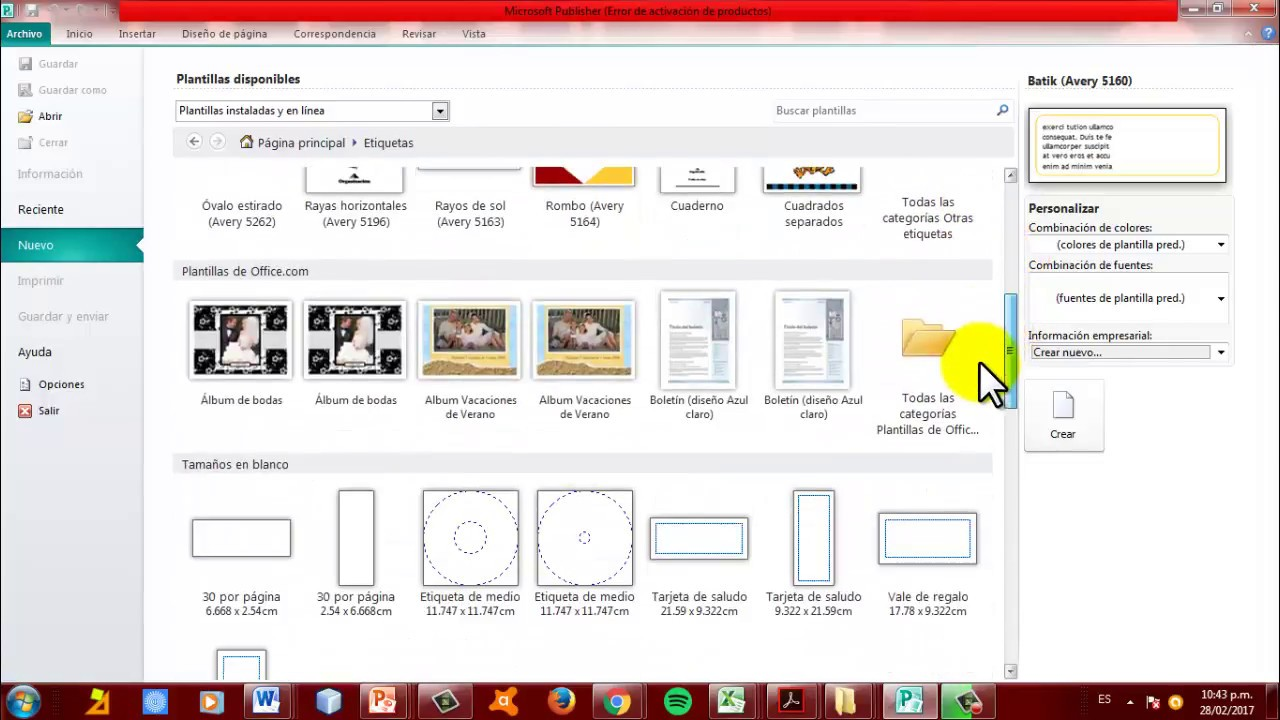 Coma Hacer Etiqueta para CD en Publisher 2010-2013 - YouTube
