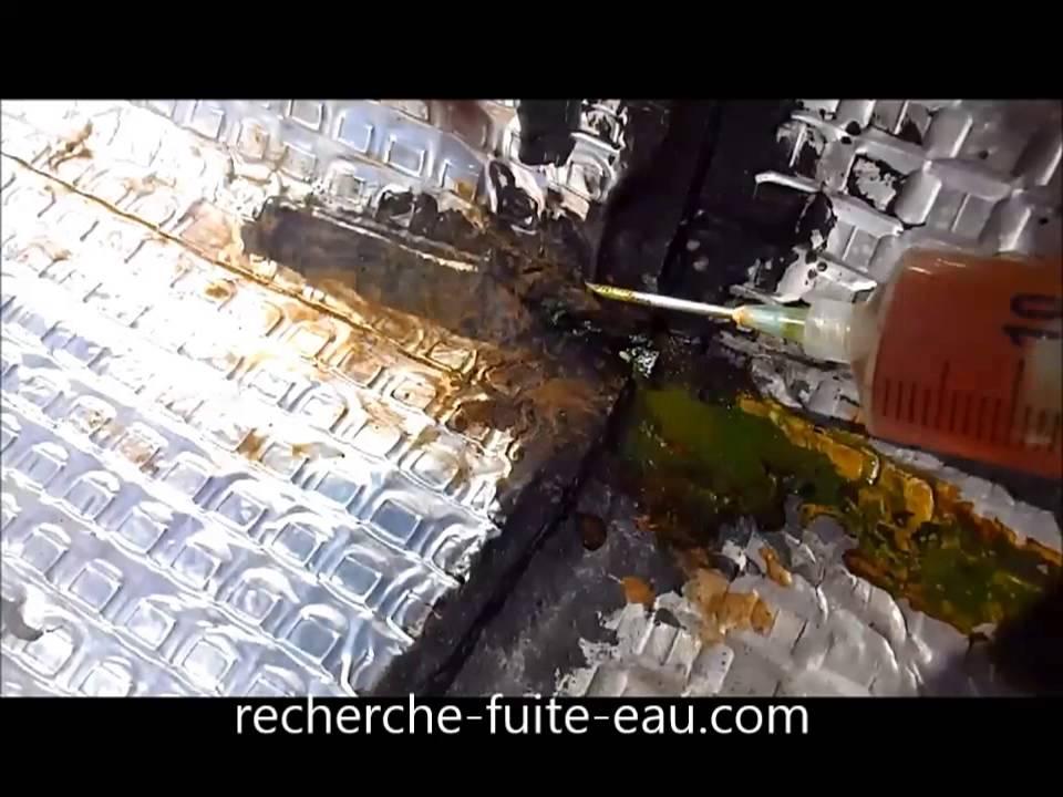 fuite toit terrasse youtube