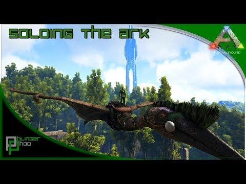 Soloing the Ark S4E46 -  Perfect Quetzal Tame - Solo Taming a Quetzal