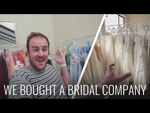 WE BOUGHT A... BRIDAL STORE?!