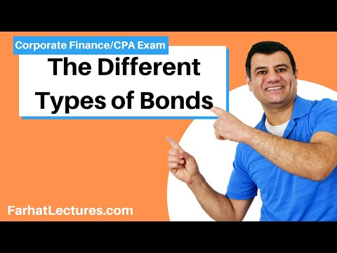 Different types of bonds corporate finance  ch 7 p 4