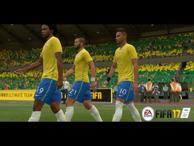 Brasil x Bol?via eliminatorias R?ssia 2018 - FIFA17 Modo LEND?RIO - Playstation 4