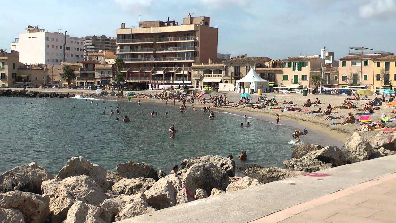 Palma de mallorca portixol beach art aug 2011 3 youtube - Job today palma de mallorca ...