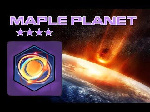 [MS2] Maple Planet (mount) unboxing