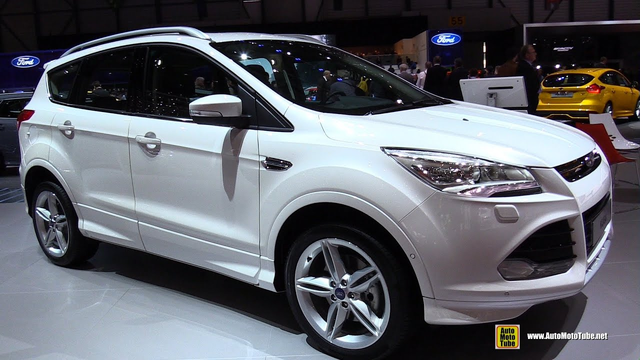 2015 ford kuga titanium s exterior and interior walkaround 2015 geneva motor show youtube. Black Bedroom Furniture Sets. Home Design Ideas