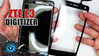 ZTE Blade L3 GLAS Digitizer Wechseln Tauschen Reparieren [Deutsch/German]