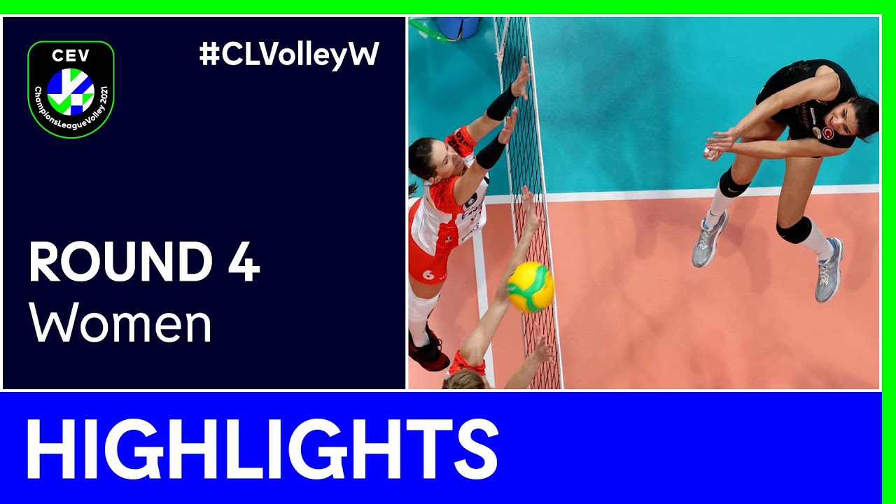 ŁKS Commercecon ŁÓDŹ vs. VakifBank ISTANBUL Highlights - #CLVolleyW