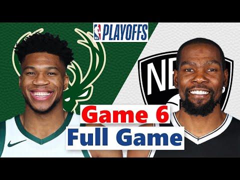 Download Brooklyn Nets vs. Milwaukee Bucks Full Game 6 Highlight | NBA Playoffs 2021
