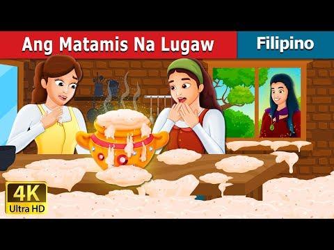 Ang Matamis Na Lugaw   Sweet Porridge Story   Kwentong Pambata   Filipino Fairy Tales