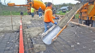 Custom Concrete Slab for Dog Kennels - The Barndominium Show E102