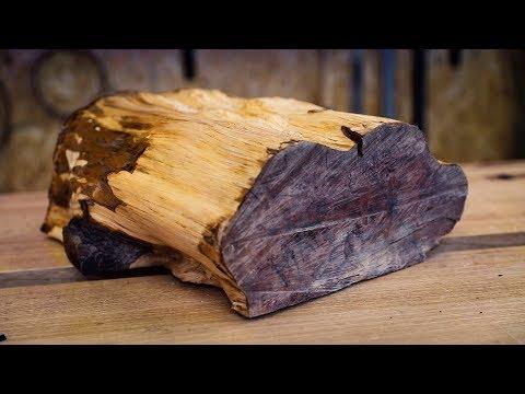Cutting up a Log